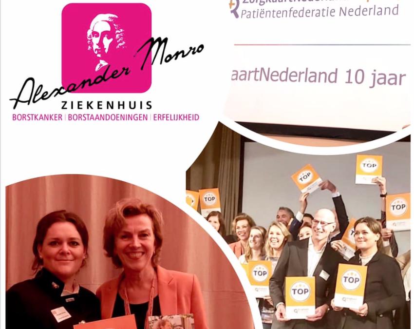 Alexander Monro Ziekenhuis in ZorgkaartNederland top 10 beste ziekenhuizen en klinieken